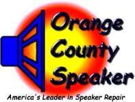orange county speaker repair logo
