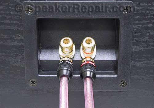 24 Spade Plug Speaker Cable Connectors Gls Audio P Sr24 Ebay