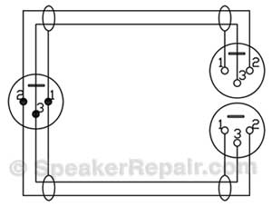 xlr splitter wiring diagram  xlr  free engine image for
