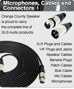 GLS Audio microphones and cables