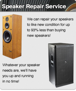 Orange County Speaker Repair - Loudspeaker Repair